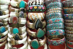 Juwelen en juwelen Stock Afbeelding
