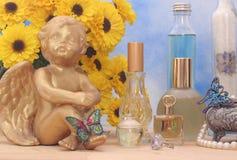 Juwelen en Parfum Royalty-vrije Stock Afbeelding