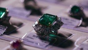 Juwelen en Zilveren Juwelen stock videobeelden