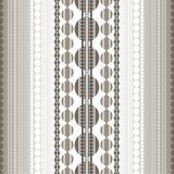 Juwelen Geometrisch patroon Stock Afbeelding