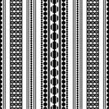 Juwelen Geometrisch patroon Royalty-vrije Stock Afbeelding