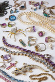 Juwelen - Halfedelstenen - Gemmen Royalty-vrije Stock Foto