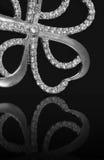Juwelen met brilliants royalty-vrije stock afbeelding