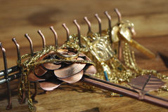 Juwelen und Halsketten Lizenzfreies Stockfoto