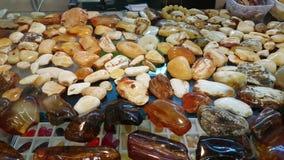 Juwelen van de Oostzee amber stock video