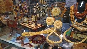 Juwelen van de Oostzee amber stock videobeelden