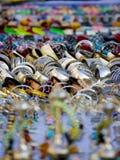 Juwelen voor verkoop in bazaar Stock Afbeeldingen