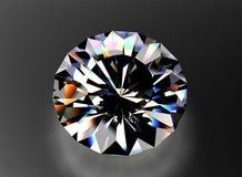 Juwelenhalfedelsteen facet stock foto's