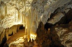 Juwelhöhle Stalaktit Margaret River Western Australia Lizenzfreie Stockfotografie