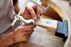 Juwelier Making Decorations royalty-vrije stock foto's