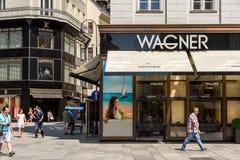 Juwelier Wagner Jewellery sklep Obrazy Royalty Free
