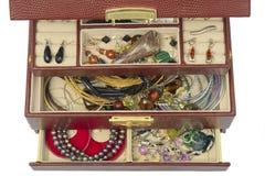 Juwelkasten stockbilder
