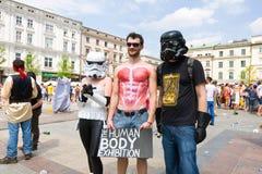 Juwenalia är årliga studenters ferie i Polen Royaltyfri Foto