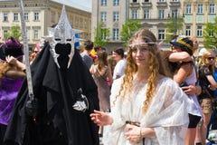 Juwenalia är årliga studenters ferie i Polen Arkivfoton