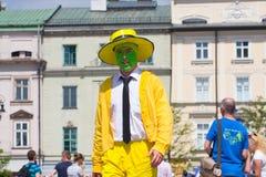 Juwenalia är årliga studenters ferie i Polen som firas vanligt för tre dagar i sena Maj Royaltyfri Fotografi