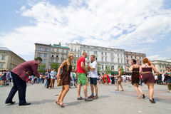 Juwenalia, est des vacances des étudiants annuels en Pologne, habituellement célébrée pendant trois jours fin mai Photos stock