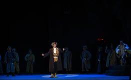 "Juyee Hall-Peking opera som ""Taking Tiger Montain By Strategyâ € Royaltyfria Bilder"