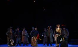 """Juyi korridordebatt-Peking opera som """"Taking Tiger Montain By Strategyâ € Arkivbilder"""