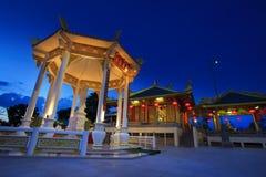 Juytuay寺庙在普吉岛,泰国 免版税图库摄影