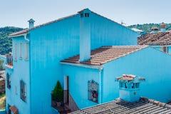 Juzcar the Smurf Village Stock Photography