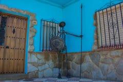 Juzcar smurf village. Royalty Free Stock Photos