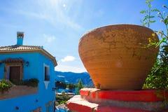 Juzcar smurf village. Stock Photography