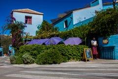 Juzcar smurf village. Royalty Free Stock Photo