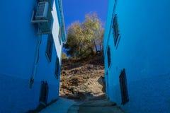 Juzcar smurf village. Stock Photo