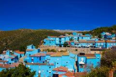 Juzcar smurf village. Royalty Free Stock Photography