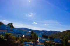 Juzcar smurf village. Stock Image
