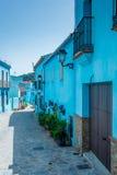 Juzcar Smurf wioska zdjęcie stock