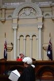 Juzgado de paz anterior de Melbourne Imagenes de archivo
