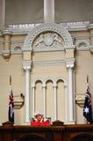 Juzgado de paz anterior de Melbourne Fotos de archivo libres de regalías