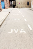 Jva Lane Stock Image