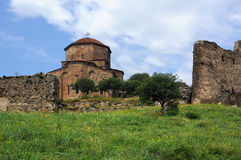 Jvari修道院 库存照片