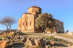 Jvari Church. Ancient Jvari Church in Mtskheta City, Georgia Royalty Free Stock Photos