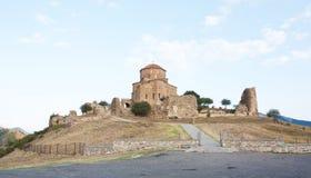 Jvari is a Georgian Orthodox monastery.. Republic Of Georgia Stock Photo
