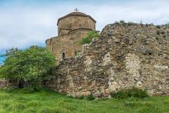 Jvari kloster Georgia Eastern Europe Royaltyfria Foton