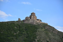 Jvari-Kloster, Mtskheta, Georgia Lizenzfreie Stockfotos