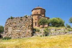Jvari kloster, Mtskheta, Georgia Fotografering för Bildbyråer
