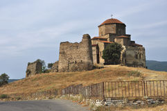 Jvari monastery Royalty Free Stock Photos