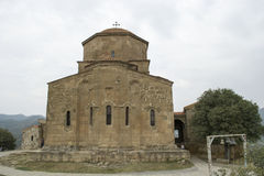 Jvari monastery Stock Image