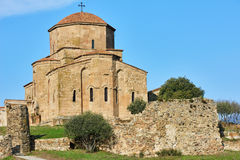 Jvari Monastery in Georgia Royalty Free Stock Image