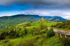 Jvari Monastery in Georgia Royalty Free Stock Photo