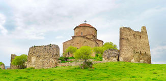 Jvari Monastery, Georgian Republic Royalty Free Stock Images