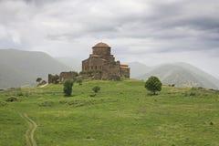Jvari Monastery. Mtskheta, eastern Georgia Stock Images