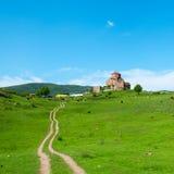 Jvari Monastery. Mtskheta, eastern Georgia. Royalty Free Stock Photography