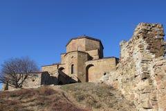 Jvari Monastery in Mtskheta, Georgia Royalty Free Stock Photos