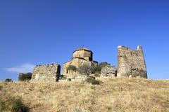 Jvari Monastery in Mtskheta, Georgia Royalty Free Stock Photography