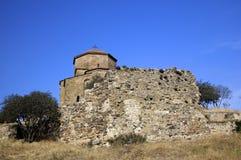 Jvari Monastery in Mtskheta, Georgia Stock Photo